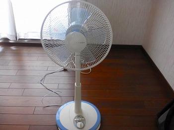 マイ扇風機